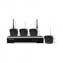 HIKVISIONKIT 4CAMERE BULLET+1NVR+1HDD WIFI 2MP