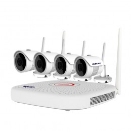 EyecamSistem supraveghere video WiFi 2MP 25M 4 camere Eyecam